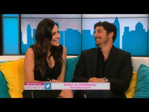Jason Biggs and Wife Jenny Mollen Talk About Their Exes