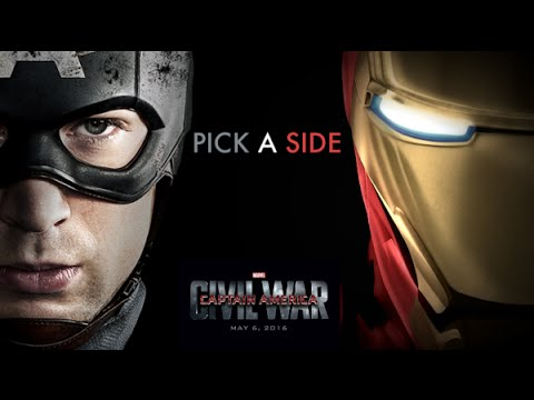 """Captain America: Civil War - Trailer with """"Hello"""" by Adele"""