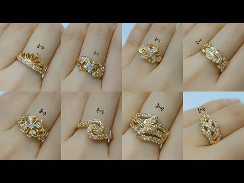 Latest Diamond Rings Designs In Gold