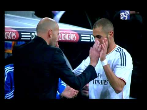 Zinedine Zidane with Real Madrid