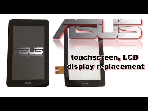 ASUS Memo Pad ME172V - Touchscreen /Disgitizer. LCD Dysplay. Battery replacement. How to Disassemble