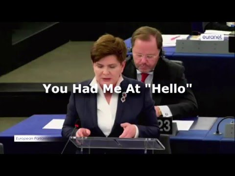 EUphoria: You had me at 'hello!'