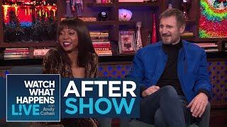 After Show: Taraji P. Henson And Liam Neeson's Admiration For Brad Pitt | WWHL