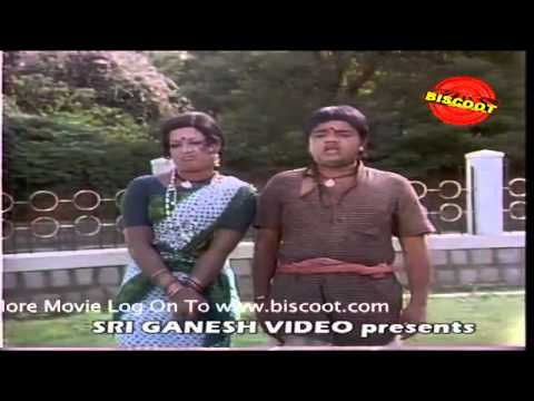 Mankuthimma Kannada Movie Comedy Scene Dwarakish And Chitra video