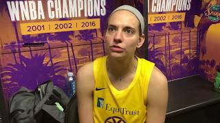 LA Sparks Sydney Wiese Talks About Staying Ready For When Her Number Is Called