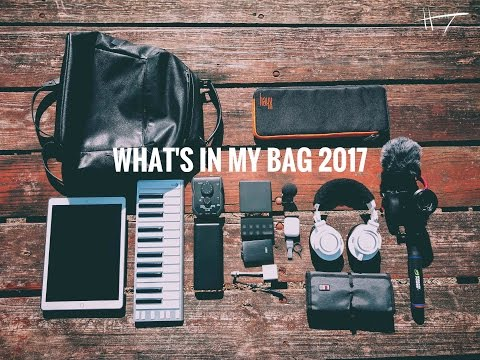 What's In My Bag (2017 Music Producer Edition) - Henny Tha Bizness
