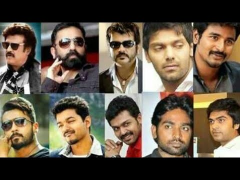 Top 10 Tamil Heroes 2018 | Tamil Cinema Actors | Southindian Actors