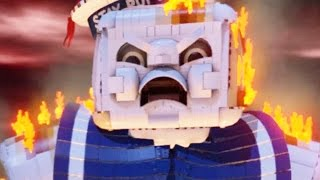 LEGO: Dimensions - Ghostbusters - Last Boss Battle + Ending [FULL] (Stay Puft Marshmallow Man)