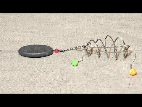 диаметр поводка на леща видео