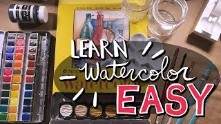 The BEST Tips For Watercolor Beginners!