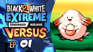 IT WASN'T WORTH IT! - Pokémon Black 2/White 2 EXTREME Randomizer Nuzlocke Versus! Episode #01