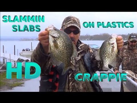 Slammin SLABS on Plastics - CRAPPIE FISHING