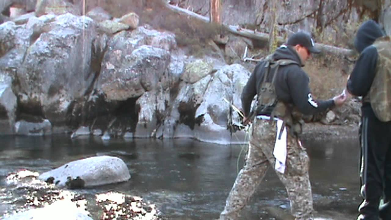 Stanislaus river middle fork trout fishing youtube for Stanislaus river fishing