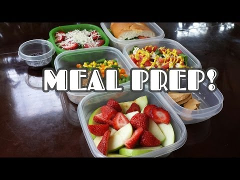 Meal Prep for the Week! + Healthy Meal Ideas