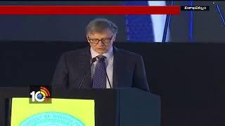 Business Magnate  Bill Gates Addresses Agritech Summit | Visakha | AP