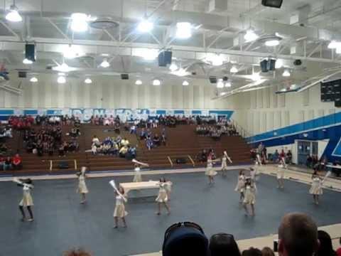 Charter Oak High School Varsity Winterguard 2012