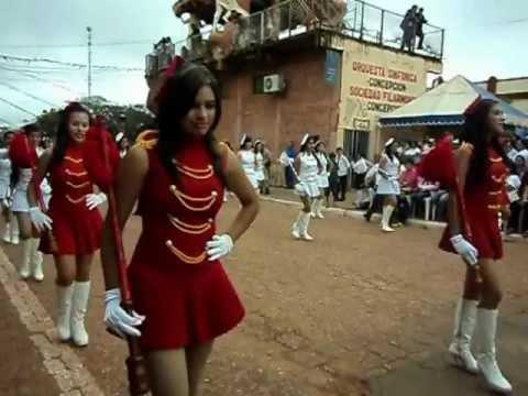 Desfile Estudiantil-Concepciòn Paraguay-CREC(5ta parte)