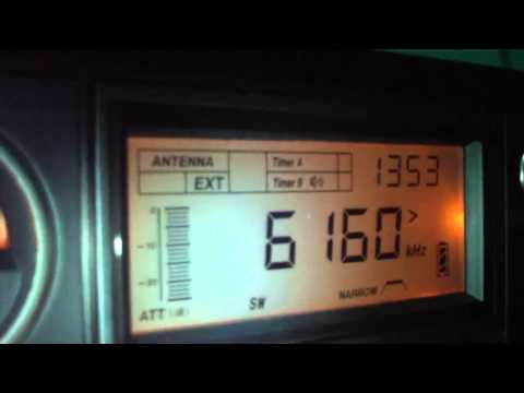 6160 khz Radio Rio Mar , Manaus , Amazonas , Brazil
