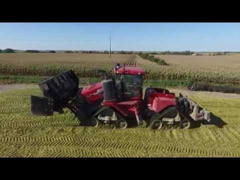 Chopping Corn Silage at Hilltop Dairy
