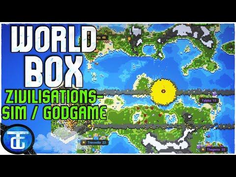 WorldBox Deutsch 🔵 Fescher Godgame / Fantasy - Zivilisations - Gott Simulator