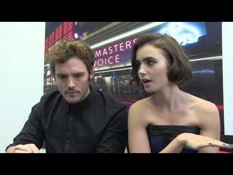 hmv.com talks to Sam Claflin and Lily Collins