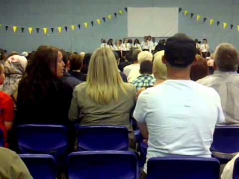 JAZ ELLINGTON WITH HIS SCHOOL GOSPEL CHOIR - LIZZIE JO REYNOLDS / OASIS ACADEMY HADLEY SCHOOL