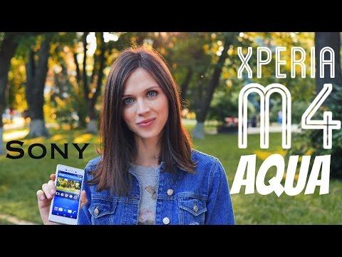 Sony Xperia M4 Aqua Dual: обзор смартфона (4K)