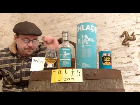 whisky review 241 - Bruichladdich 10yo (new version)