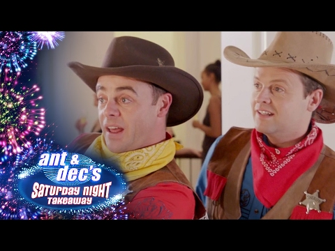 Who Shot Simon Cowell? Ant & Dec Find Themselves On the Run... - Saturday Night Takeaway