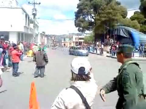 Accidente en carrera automovilística  (Túquerres,Nariño 03-Julio-2010)