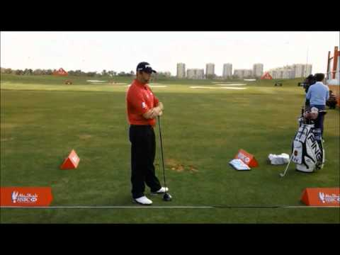 Lee Westwood Golf Clinic