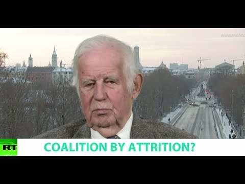 COALITION BY ATTRITION? Ft. Kurt Biedenkopf, Former Prime Minister of Saxony