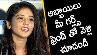 Heroine Priyanka Jawalkar Speech @Taxiwala Movie Press Meet
