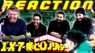 My Hero Academia [English Dub] 1x7 REACTION!!