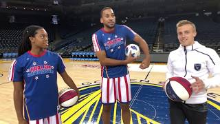Soccer Star vs. Harlem Globetrotter in HORSE