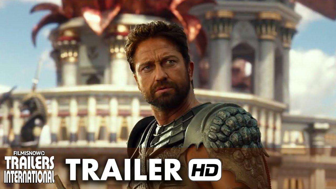 Deuses do Egito Trailer Oficial Dublado (2016) - Brenton Thwaites, Gerard Butler [HD]