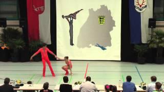 Amila Okanovic & Tim Huber - LM Baden-Württemberg & Hessen 2015