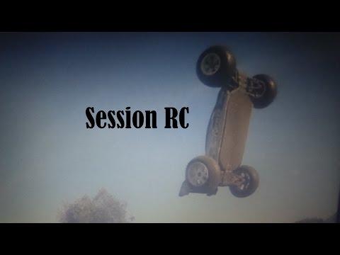 Session RC avec la voiture rattler de chez hobby king