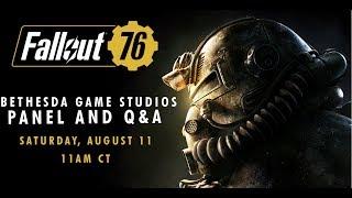 QuakeCon 2018 | Fallout 76 and Fan Q&A