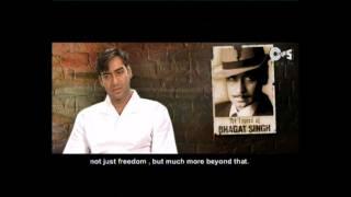 The Legend of Bhagat Singh - Movie Making - Ajay Devgan