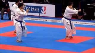 Team Kata + Bunkai GANKAKU by ITALY - FINAL 21st WKF World Karate Championships