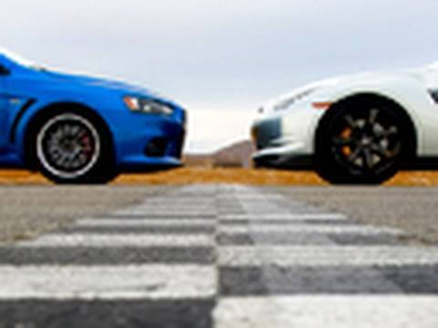 Project Evo vs. Nissan GTR Music Videos