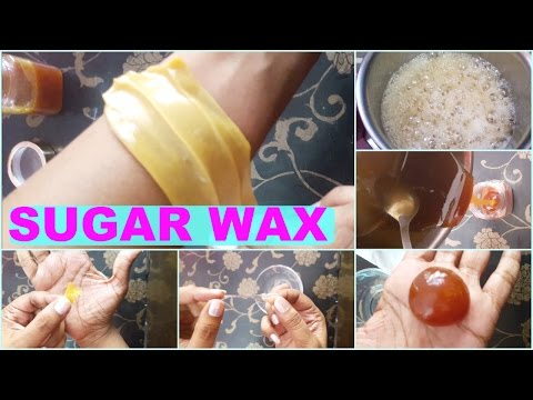 how to prepare wax at home with sugar