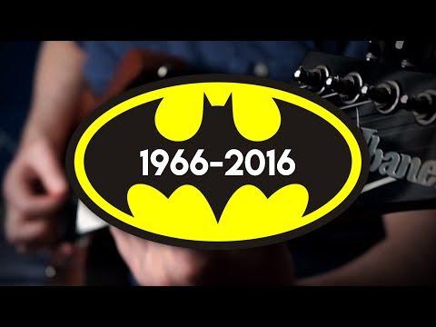 Batman Movie Themes (1966 - 2016) on Guitar