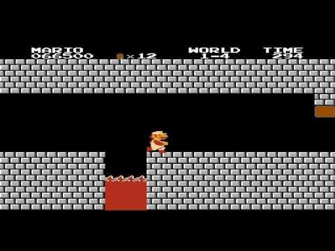 Прохождение Super Mario Bros.(NES) часть 1