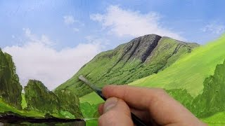 #59 How to Paint Distant Hills | Oil Painting Tutorial