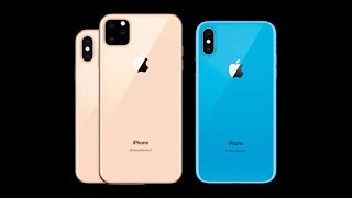 2019 Apple iPhones: iPhone XI Max, iPhone XI, iPhone XI R