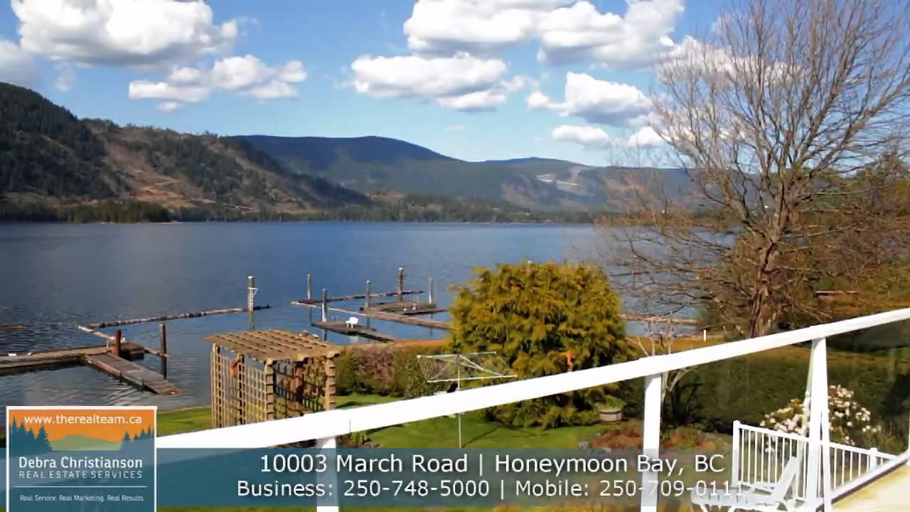 Lake Cowichan Waterfront Property For Sale