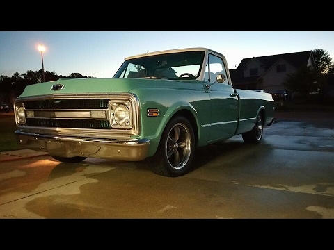In Depth Tour of My Ls Swapped 1970 c10!