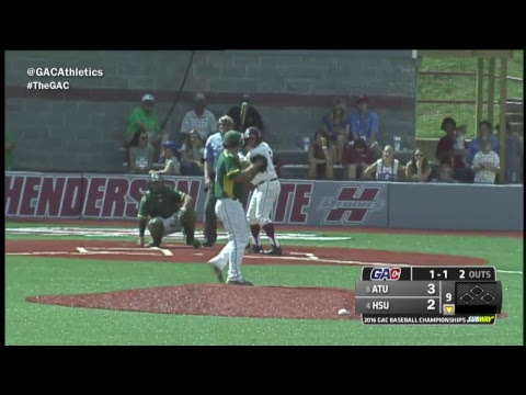 GAC Baseball Tournament (Game 1) - Arkansas Tech vs. Henderson State
